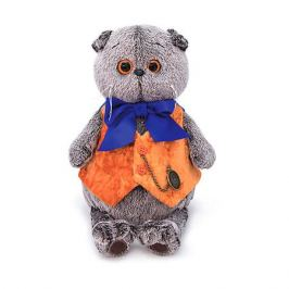 Budi Basa Одежда для мягкой игрушки Budi Basa Оранжевый жилет с часами, 30 см