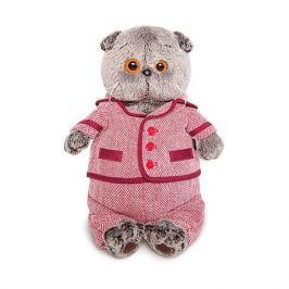 Budi Basa Одежда для мягкой игрушки Budi Basa Красный пиджак и брюки в ёлочку, 25 см