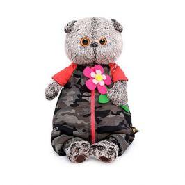 Budi Basa Одежда для мягкой игрушки Budi Basa Комбинезон на молнии к ярко-розовому цветку из фетра, 22 см
