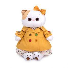 Budi Basa Одежда для мягкой игрушки Budi Basa Оранжевый плащ и платье в разноцветный горох, 24 см