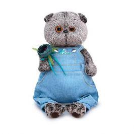 Budi Basa Одежда для мягкой игрушки Budi Basa Голубой комбинезон с розочкой, 22 см