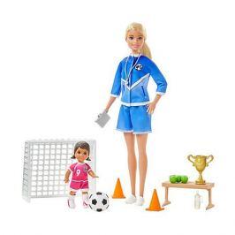 Mattel Игровой набор Barbie Футбольный тренер