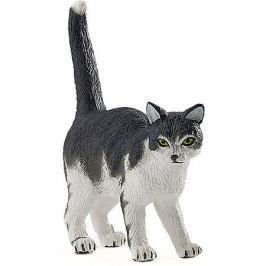papo Игровая фигурка PaPo Чёрно-белый кот