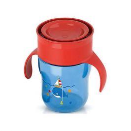 PHILIPS AVENT Чашка-поильник с ручками, Philips Avent, 260 мл., синий/красный