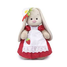 Budi Basa Одежда для мягкой игрушки Budi Basa Платье красное в белый горошек и белый фартук, 32 см