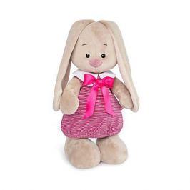 Budi Basa Одежда для мягкой игрушки Budi Basa Платье в морском стиле в розовую полоску, 25 см