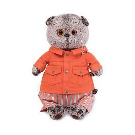 Budi Basa Мягкая игрушка Budi Basa Кот Басик в оранжевой куртке и штанах, 22 см
