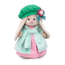 Budi Basa Одежда для мягкой игрушки Budi Basa Розовое платье с бирюзовым пальто и берет, 32 см