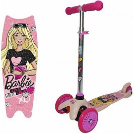 1Toy Трёхколёсный самокат 1Toy Barbie