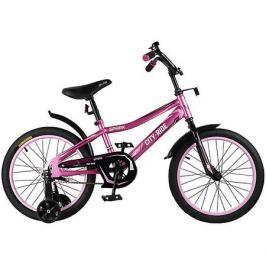 City-Ride Детский велосипед City-Ride Spark , рама сталь , диск 18 сталь , цвет Розовый
