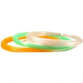 Unid Комплект пластика Unid PLA для 3Д ручек, 3 светящихся цвета в органайзере