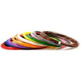 Unid Комплект пластика Unid ABS для 3Д ручек, 12 цветов в органайзере