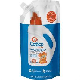 Cotico Кондиционер-ополаскиватель Cotico Baby для детского белья, 1 л