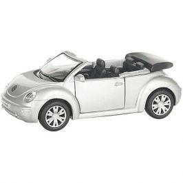 Serinity Toys Коллекционная машинка Serinity Toys Volkswagen Beetle кабриолет, серебристая