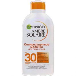 Garnier Солнцезащитное молочко для лица и тела Garnier Ambre Solaire SPF 30, 200 мл