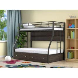 Двухъярусные кровати с полкой