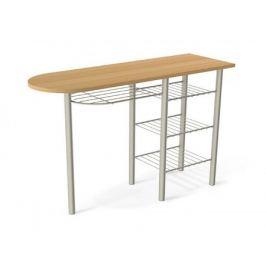 Белые обеденные столы из массива