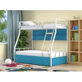 кровать Двухъярусная кровать Радуга (90х190/120х190) Радуга