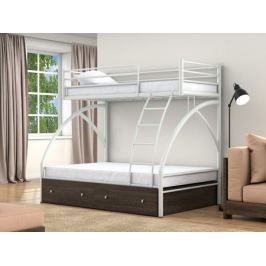 кровать Двухъярусная кровать Клео 2 (90х190/190х120) Клео 2