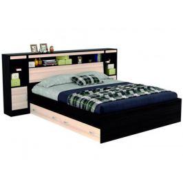 кровать Кровать с блоком, ящиками, тумбами и комплектом для сна Виктория (180х200) Виктория