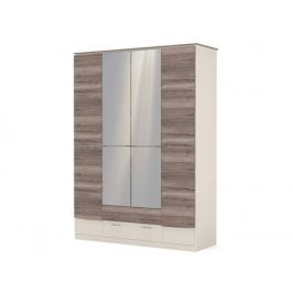 распашной шкаф Шкаф 4-х дверный с зеркалом Presto Presto