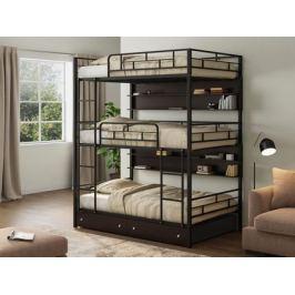 кровать Трехъярусная кровать Эверест (120х190) Эверест