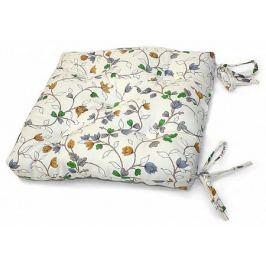 Подушка на стул Рапит-П (голубой)
