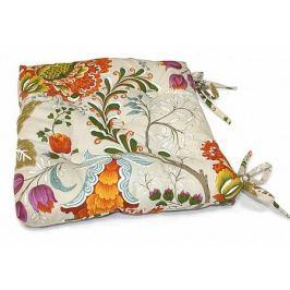 Подушка на стул Тарес-П (оранж.)