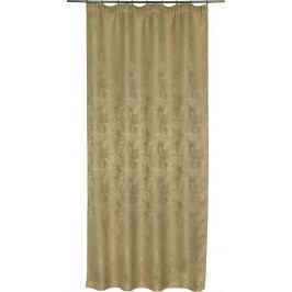 Штора на ленте «Агата» 200Х280 см цвет бежевый