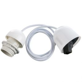 Шнур Honduras 1xE27x60Вт, пластик, цвет белый