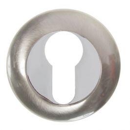 Накладка под цилиндр ET TL SN/CP-3, цвет матовый никель/хром