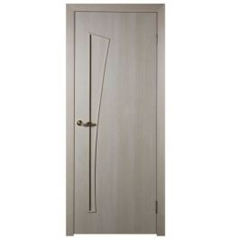 Дверь межкомнатная глухая ламинированное Белеза 60x200 см цвет белый дуб