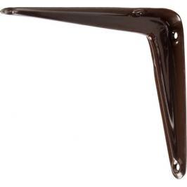 Кронштейн Utility 10х12.5 см нагрузка до 15 кг цвет коричневый