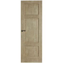 Дверь межкомнатная глухая Антико 80x200 см цвет винтажный дуб