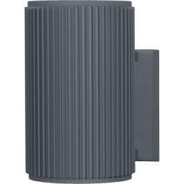 Бра уличное Электростандарт Techno 1404 1xE27x60 Вт, цвет серый