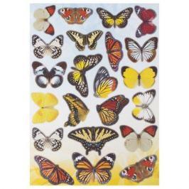 Наклейка «Садовые бабочки» Декоретто L