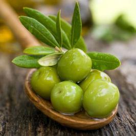 Картина на холсте «Зеленые оливки» 20х20 см