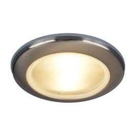 Светильник встраиваемый Электростандарт Spruzzo, GU5.3, 50 Вт, цвет хром, IP44