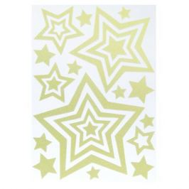 Наклейка светящаяся «Звезды» EVA 0404