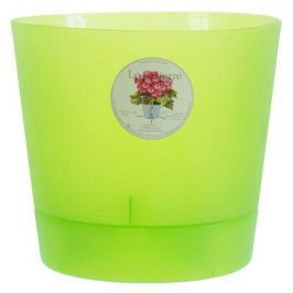 Горшок цветочный «Орхидея» светло-зелёный 2.8 л 195 мм, пластик