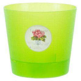 Горшок цветочный «Орхидея» светло-зелёный 1.4 л 150 мм, пластик