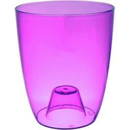 Кашпо «Орхидея» фиолетовый 1.3 л 130 мм, пластик