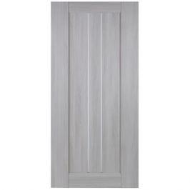 Дверь межкомнатная глухая Челси 80x200 см, цвет ясень скандинавский