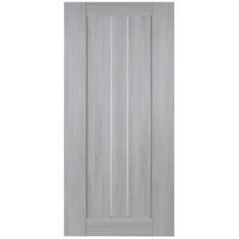 Дверь межкомнатная глухая Челси 90x200 см цвет ясень скандинавский