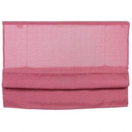 Штора римская «Натур», 120х160 см, цвет розовый
