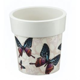 Кашпо «Бабочки» 5 л, 250 мм, Тубус Деко