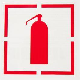 Трафарет «Огнетушитель» 20х20 см