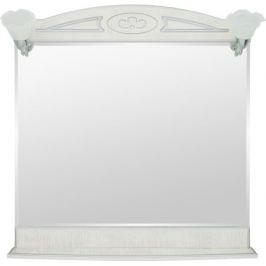Зеркало «Луиза» 83 см цвет белое серебро