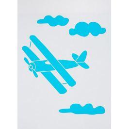 Трафарет самоклеящийся «Самолёт» 25х35 см