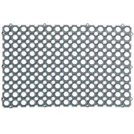 Коврик ячеистый ПВХ 40x60 см цвет серый